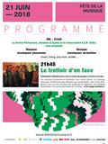 Fête de la musique 2018 - À ne pas manquer : Le trottoir d'en face à Montmorency !