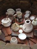 Journées du patrimoine 2016 -Archéologie expérimentale : cuisson de céramiques dans un four de potier gallo-romain reconstitué