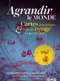 Journées du patrimoine 2016 -Agrandir le monde. Cartes géographiques et livres de voyages (XVe-XVIIIe siècle)