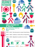 Journées du patrimoine 2016 -Dégustation de produits de nos terroirs avec le collectif citoyen Péligourmet