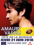 Fête de la musique 2018 - Amaury Vassili et les finalistes du concours de chant Voix en Scène (enfant/adulte/auteur-compositeur)