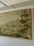 Journées du patrimoine 2016 -Anciens papiers peints panoramiques de la Mulatière