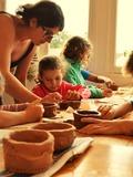 Journées du patrimoine 2016 -Animation céramique du Néolithique à Clairvaux-les-Lacs