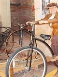 Journées du patrimoine 2016 -Animation vélos rétro à Moirans-en-Montagne