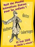 Nuit des musées 2018 -Animations ZAZOUS