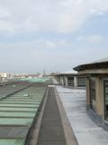 Journées du patrimoine 2016 -Ascension sur le toit du palais de la Porte Dorée