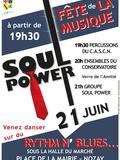 Fête de la musique 2018 - Association C.A.S.C.N. / Conservatoire Municipal de Nozay / Soul Power