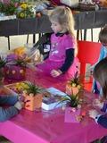 Journées du patrimoine 2016 -Atelier d'art floral pour enfants