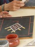 Journées du patrimoine 2016 -Atelier d'initiation aux motifs Teko