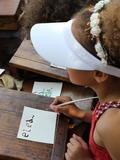 Journées du patrimoine 2016 -Atelier de calligraphie