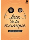 Fête de la musique 2018 - Atelier de La CLEF / Association La Capoeira / Institut Les Glycines et la British School / Soglaam