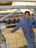 Journées du patrimoine 2016 -Atelier fabrique de paillassons en roseaux