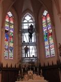 Journées du patrimoine 2016 -Atelier de vitraux Berthier Bessac