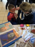 Nuit des musées 2018 -Atelier maquillage enfants