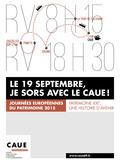 Journées du patrimoine 2016 -Atelier-musée du chapeau  : circuit: