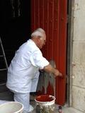 Journées du patrimoine 2016 -Ateliers de peinture à la farine