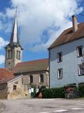 Journées du patrimoine 2016 -Au cœur du vieux village d'Ainvelle : la place de la pesée.