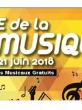 Fête de la musique 2018 - Auditions des classes et ateliers