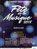 Fête de la musique 2018 - Auren / Poupa Claudio et King Dibou / Willy Caid