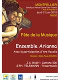Fête de la musique 2018 - Bach / Telemann : Trauermusik