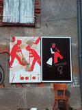 Journées du patrimoine 2016 -Balade-lectures autour des affiches d'Olivier Douzou
