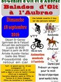 Journées du patrimoine 2016 -Balades de Saint Geniez d'Olt à Aurelle Verlac