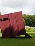 Journées du patrimoine 2016 -CABANE[s] - WALDEN, installation de Loïc Guénin pour le potager-jardin de Royaumont