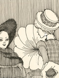 Nuit des musées 2018 -Cabu : le théâtre à main levée. Croquis d'un spectateur amoureux