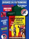 Journées du patrimoine 2016 -Café-théâtre aux armées