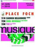 Fête de la musique 2018 - Carmin Belgoderer / Soul Revenge / The G