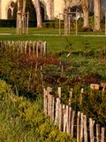 Journées du patrimoine 2016 -Carré magique de Jean-Luc Hervé, une installation sonore dans le potager-jardin de Royaumont