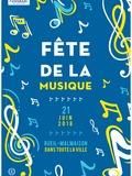 Fête de la musique 2018 - Chansons et contes pour les enfants de 4 à 8 ans par Anne Leviel et Benoît Brunhes / Scène ouverte aux jeunes talents