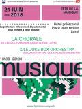 Fête de la musique 2018 - Chanteurs et musiciens de Mayenne à la préfecture