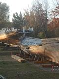 Journées du patrimoine 2016 -Chantier de charpenterie de marine et de restauration - Parc naturel régional de la Narbonnaise