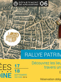 Journées du patrimoine 2016 -Chasse au trésor - Vieux-Nice