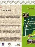 Journées du patrimoine 2016 -Circuit de promenade en forêt, à l'emplacement de l'ancien parc du château des Bonaparte
