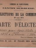 Journées du patrimoine 2016 -Exposition : Collections et citoyenneté
