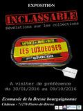 Journées du patrimoine 2016 -Comprendre le rôle d'un musée avec l'exposition Inclassable à Pierre-de-Bresse