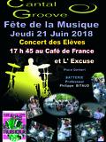 Fête de la musique 2018 - Concert des élèves de l'École de Batterie Philippe Bitaud