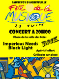 Fête de la musique 2018 - BBB, Imperious Needs, Black Light