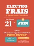 Fête de la musique 2018 - Electro Frais