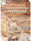 Journées du patrimoine 2016 -Conférence « le Clain et ses alluvions, témoins des changements climatiques au Quaternaire »,