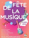 Fête de la musique 2018 - Conservatoire / Souames / 4 à Strophes / Chorale Société musicale / Les Doris / Harnolfia