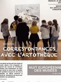 Nuit des musées 2018 -Correspondances avec l'Artothèque
