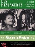 Fête de la musique 2018 - Cynthia Abraham & Lucile Chriqui - Les Messagères au Jazz Café Montparnasse