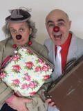 Nuit des musées 2018 -Déambulations d'Otto et Juliette, clowns contemporains