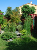 Rendez Vous aux Jardins 2018 -découverte d'un petit jardin d'ornement dans un lotissement