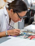 Journées du patrimoine 2016 -Découverte de l'Atelier de Restauration et de Conservation des Photographies de la Ville de Paris