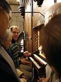 Journées du patrimoine 2016 -Découverte de l'orgue de l'abbatiale Saint-Sauveur avec Sébastien Rébé, facteur d'orgues