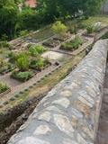 Rendez Vous aux Jardins 2018 -Découverte des 16 carrés du jardin d'inspiration médiévale, créé par l'association des « Amis du prieuré de Monsempron ».